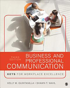Business and Professional Communication Book