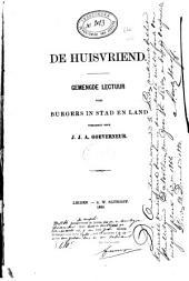 De huisvriend: gemengde lectuur voor burgers in stad en land, Volume 24