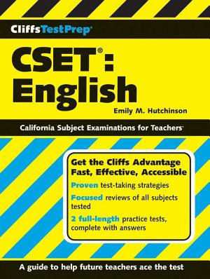 CliffsTestPrep CSET  English