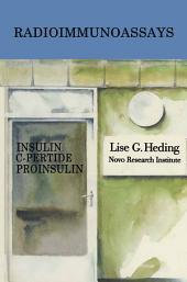 Radioimmunoassays for Insulin, C-Peptide and Proinsulin