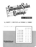 Intermediate scales and bowings for strings PDF