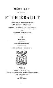 Mémoires du général Bon Thiébault