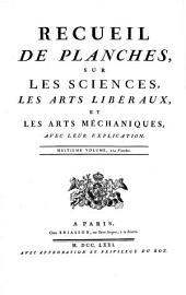 Recueil De Planches Sur Les Sciences, Les Arts Liberaux Et Les Arts Méchaniques: Avec Leur Explication, Volume7