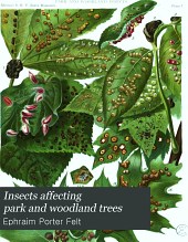 Insects Affecting Park and Woodland Trees: Volume 1