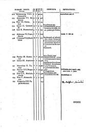 Historia de vitis ac gestis Pontificum Romanorum