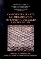 Analog  as en el arte  la literatura y el pensamiento del exilio espa  ol de 1939 PDF