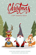 Christmas Card Address Book PDF
