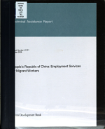 People s Republic of China Employment Services for Migrant Workers PDF