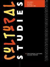 Cultural Studies: Volume 9, Issue 1