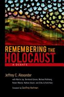 Remembering the Holocaust PDF