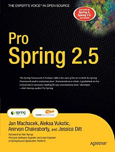 Pro Spring 2 5 Book