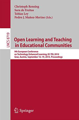 Open Learning and Teaching in Educational Communities PDF
