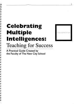 Celebrating Multiple Intelligences