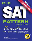 KALLIS  Redesigned SAT Pattern Strategy 3rd Edition Book