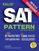 KALLIS  Redesigned SAT Pattern Strategy 3rd Edition PDF