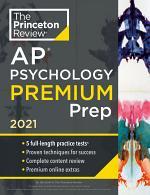 Princeton Review AP Psychology Premium Prep, 2021