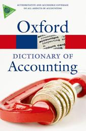 A Dictionary of Accounting: Edition 4