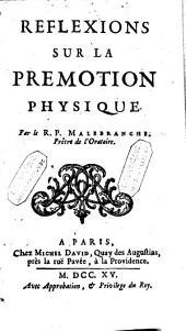 Réflexions sur la prémotion physique