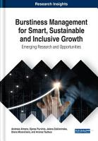 Burstiness Management for Smart  Sustainable and Inclusive Growth  Emerging Research and Opportunities PDF