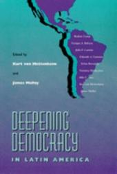 Deepening Democracy in Latin America