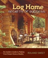 Log Home Secrets of Success PDF