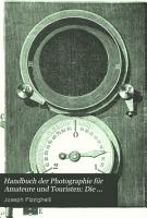 Handbuch der Photographie f  r Amateure und Touristen PDF