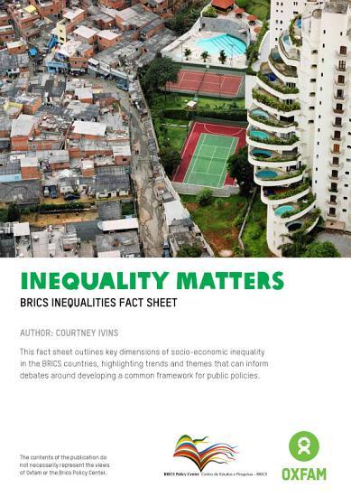 Inequality Matters PDF