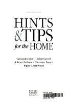 10 001 Hints   Tips for the Home PDF
