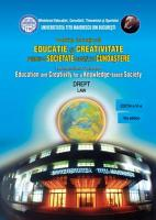 The International Conference Education and Creativity for a Knowledge based Society     Law  2012 PDF