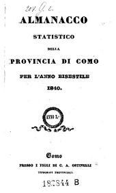 Almanacco Della Provincia Di Como: Volume 3