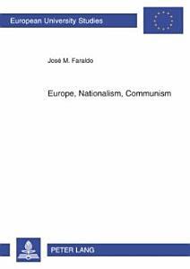 Europe  Nationalism  Communism PDF