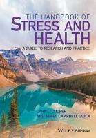 The Handbook of Stress and Health PDF