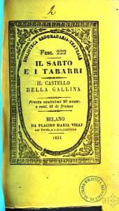 Il sarto e i tabarri, ovvero, La giornata del mio matrimonio commedia in quattro atti dei sigg. Scribe, Varne [|] e Dupin