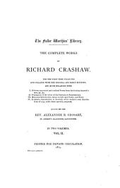 The Complete Works of Richard Crashaw: Volume 2