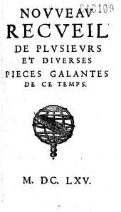 Nouveau recueil de plusieurs et diverses pièces galantes de ce temps