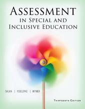 Assessment in Special and Inclusive Education: Edition 13