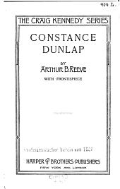 Constance Dunlap, Woman Detective