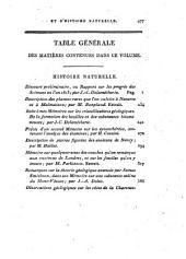 Journal de physique, de chimie, d'histoire naturelle et des arts: Volume78