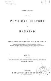 Researches Into the Physical History of Mankind: Volume 3