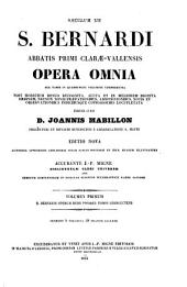 Patrologiae latina cursus completus ... series secunda: Volume 182