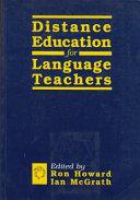 Distance Education for Language Teachers