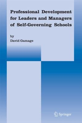 Professional Development for Leaders and Managers of Self Governing Schools PDF