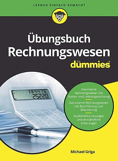 bungsbuch Rechnungswesen f  r Dummies PDF