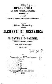 Elementi di meccanica