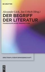 Der Begriff der Literatur PDF