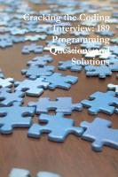 Cracking the Coding Interview  189 Programming Questions and Solutions PDF