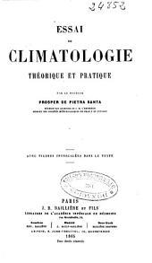 Essai de climatologie théorique et pratique