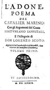 L' Adone: Poema Del Cavalier Marino, Volume 1