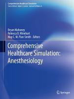 Comprehensive Healthcare Simulation  Anesthesiology PDF