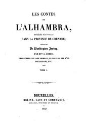 Les contes de l'Alhambra: précédés d'Un voyage dans la province de Grenade, Volume1